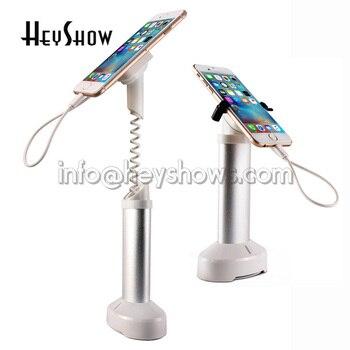10x Mobiele Telefoon Beveiliging Stand Mobiele Telefoon Display Alarm Systeem iphone Anti Diefstal Houder Seguridad Met Klem Voor Retail shop