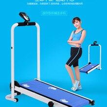 Мини-домашняя беговая дорожка, многофункциональное бесшумное оборудование для фитнеса, широкий ремень для бега и прогулок, для занятий спортом в помещении