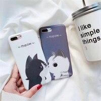 Sıcak Satış Sevimli Kediler Yumuşak Silikon TPU Güzel Cep Telefonu iphone6 6 S 6 Artı iPhone7 Için Moda Koruyucu Kabuk 7 Artı