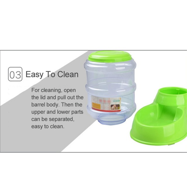 3.5L Large Automatic Pet Feeder For Cats Dogs