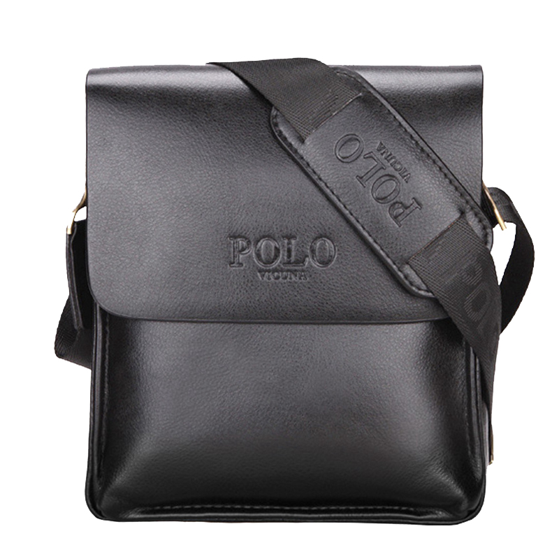 POLO Famous Brand Leather Men Bag Casual Business Leather Messenger Bag Vintage Men s Crossbody bag