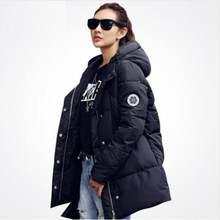 Длинные парки для женщин новая зимняя куртка пальто утепленная