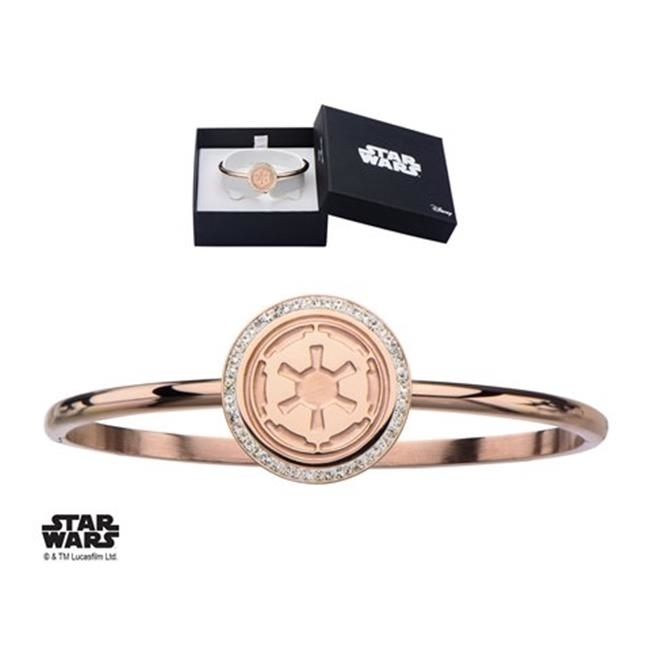 Star Wars Swisczbr01 Pvd Plated Galactic Empire Symbol Stainless