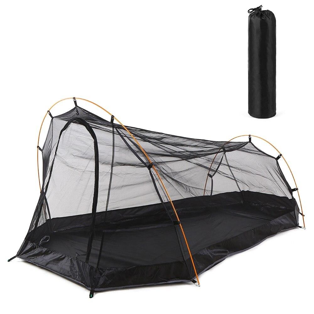 # LIXADA tente de Camping en plein air tente anti-moustiques pour 2 personnes Camping tente de plage randonnée escalade Cabana tentes en maille respirante