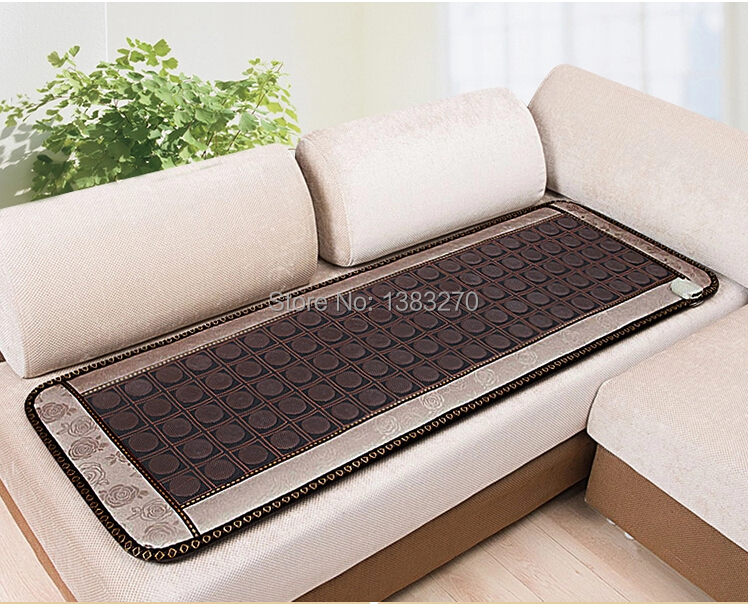 2017 NEW HOT giada prodotti per la terapia di calore riscaldamento tormalina cuscino del sedile massaggio dormire con trasporto la copertura degli occhi 50X150 CM