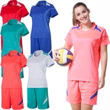 Survetement футбол полиэстер волейбольный костюм для женщин волейбольные майки одежда спортивной формы для бега костюм для волейбола