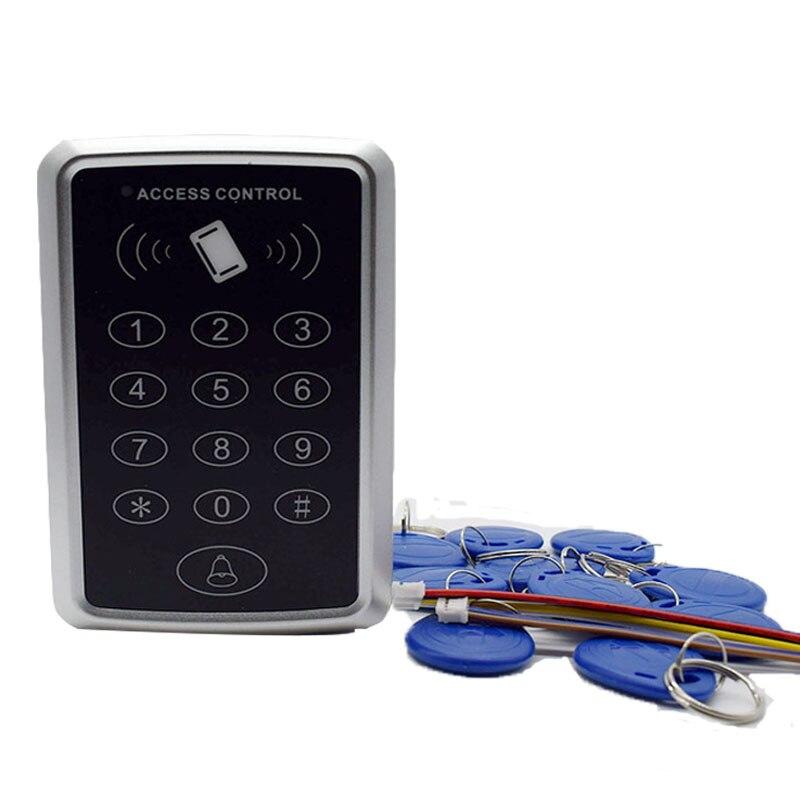 Hohe qualität rfid 125 khz id tag sicherheit kartenleser zugangskontrolle tastatur Geben Verschiffen 5 ID keyfob