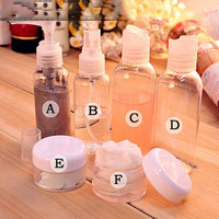1Set X Container Bottle Empty Small Sample Liquid Cream Spray Pperfume Bottles