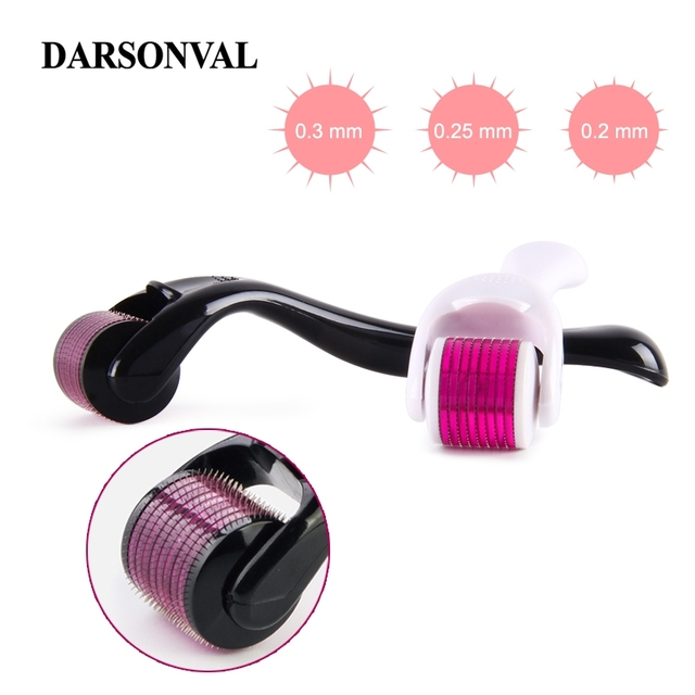 DARSONVAL DRS 540 derma roller micro needles titanium microneedle mezoroller machine for skin care and hair-loss treatment 1
