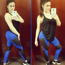 Womens 3 Color Sexy Push Up Mesh Fitness Leggings