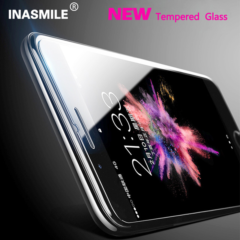 9H tempered glass For iphone 7 plus 6 s 6 plus 6s plus screen protector protective guard film front case cover for iphone se 5s