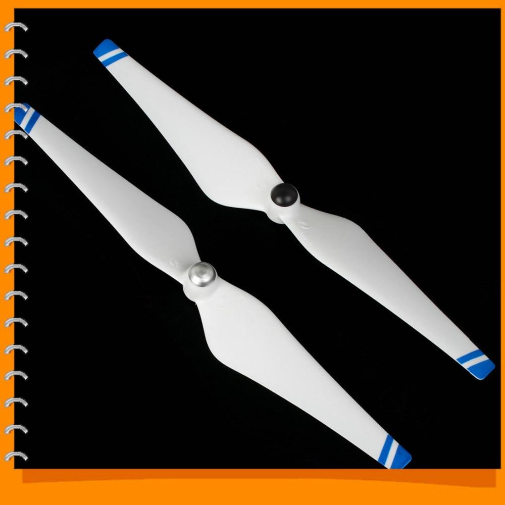 1pair Propeller 9443 Self locking Prop CW CCW Set for DJI Phantom 2 Vision white blue