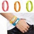 100% Original Colorful Silicone Xiao mi Wrist Band Bracelet Wrist Strap For Xiaomi Miband Mi band 1 & 1S Smart Band