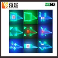 New Arrival LED wedding moonflower pattern decoration performance party dj scanning beam effect disco light