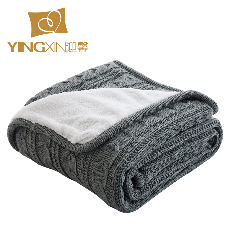 Online Get Cheap Cable Knit Throw Blanket Aliexpress Com