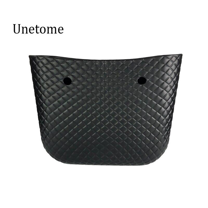 Diamond Grain Pattern Big size body bag waterproof EVA body O bag obag style handbag Rubber