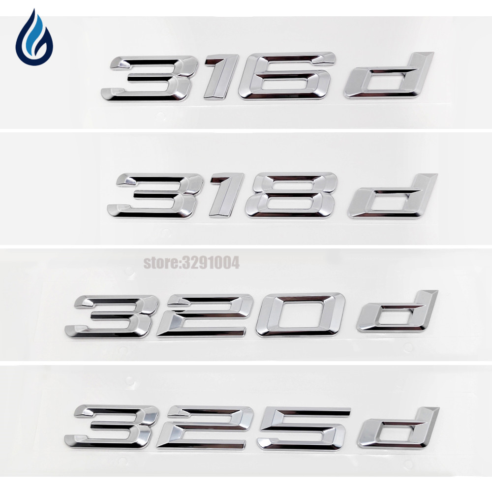 316d 318d 320d 325d Car Emblem Rear Number Letter sticker for BMW 3 series E21 E30 E36 E46 E90 E91 E92 E93 F30 F31 F34 for bmw 3 series e36 318 328 323 325 front coilover strut camber plate top mount green drift front domlager top upper mount
