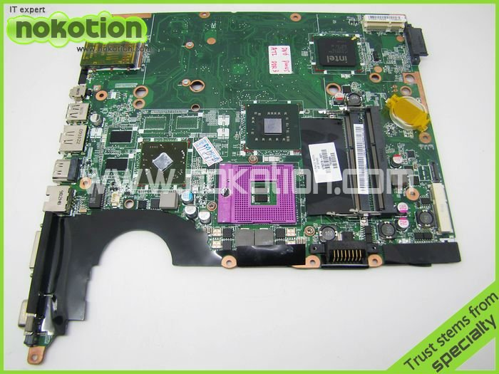 NOKOTION 578378-001 Laptop motherboard for Hp DV6 PM45 With graphics card DDR3 Mainboard Mother Boards 45 days warranty laptop motherboard for hp 6450b 6550b 613293 001 for intel cpu with integrated graphics card 100