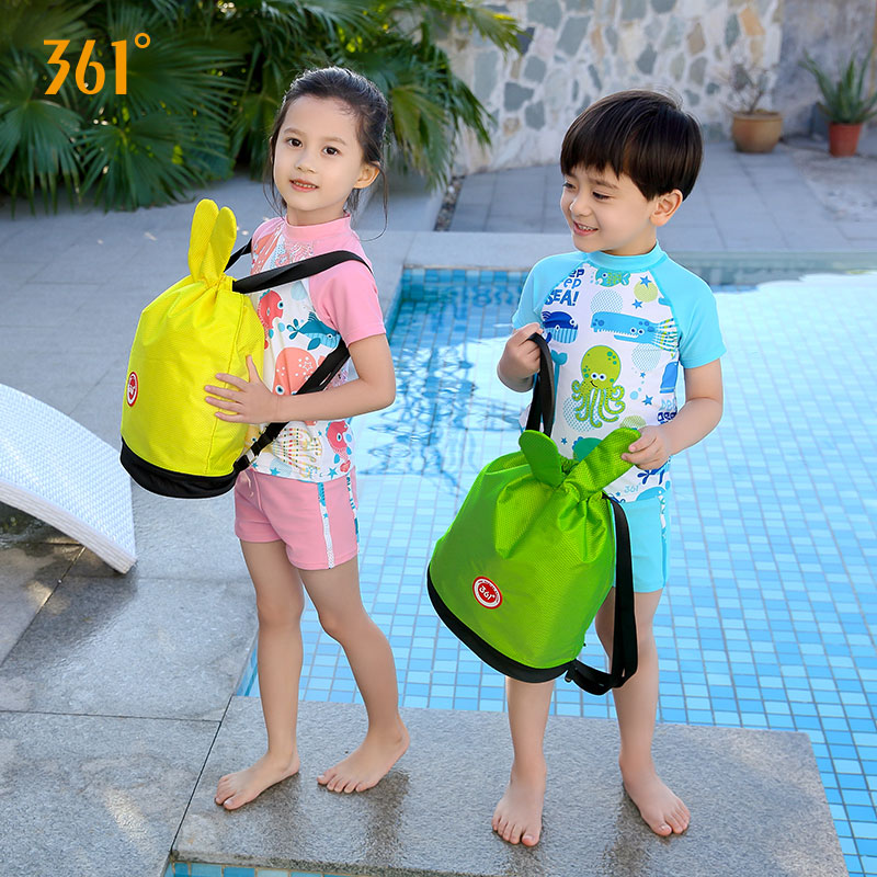 361 Kids Backpack Sports Bags Children Boys Girls Swimming Backpack Waterproof Bag Combo Dry Wet Bags Camping Pool Beach Outdoor in Swimming Bags from Sports Entertainment