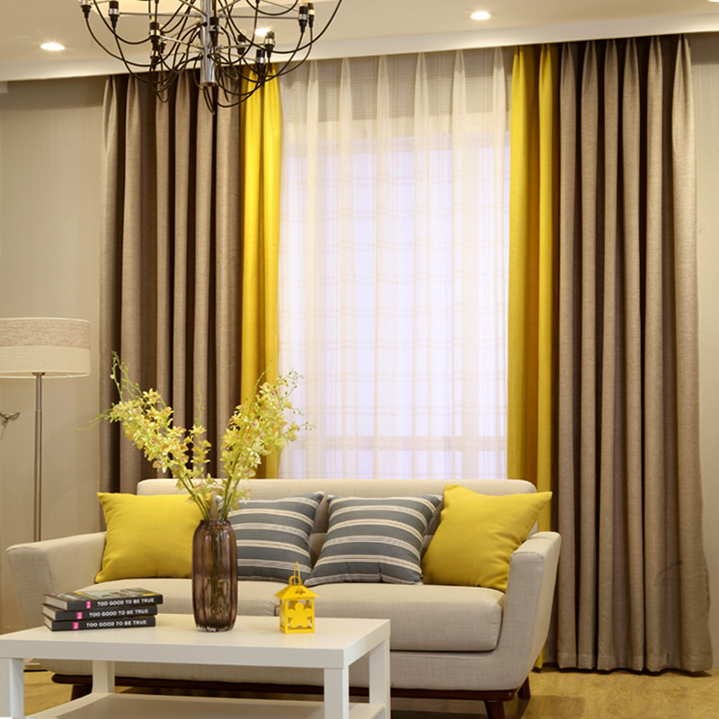 modern curtain ideas for bedrooms modern linen curtain designs splice colors curtains for 19253