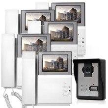DIYSECUR 600TV Línea de Vídeo Puerta Timbre Del Teléfono de Intercomunicación de Vídeo IR Cámara de Visión Nocturna Al Aire Libre para el Hogar/Oficina Sistema de Seguridad