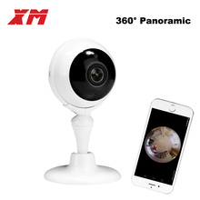 360 Degree Panoramic Fish Eye IP Camera Multi-purpose Wifi Wireless Night Veresion kamera APP Remote Control Wireless P2P IP Web