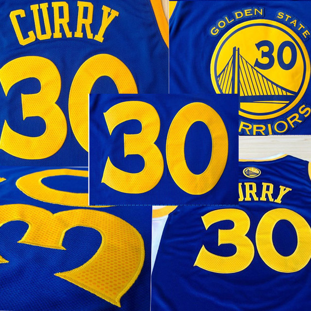 7f96bc97 Top Seller 30 Stephen Curry Throwback Jerseys Blue Yellow Rev 30 Stephen  Curry Jersey college sports basketball jerseys