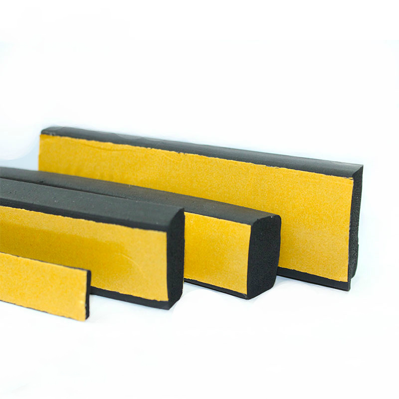 5M 2 3 5 10mm EPDM Self Adhesive Foam Sealing Tape Strip EPDM foaming square strip
