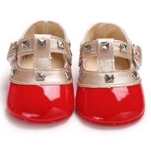 Shoes Baby-Girls Newborn Bling Crib Bow Soft-Sole Anti-Slip 0-18M Princess Cute