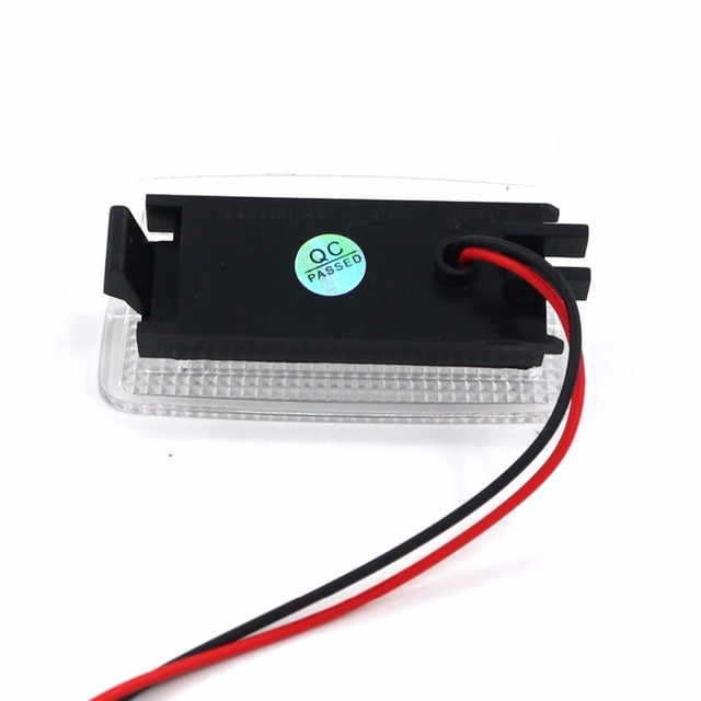 Eonstime 2x super brilhante 18led smd passo cortesia luzes da porta para es350 gsv40 lx570 urj201 ls460/460l rx300 rx400h toyota avalon