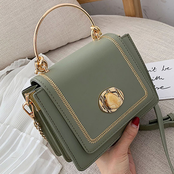 Solid color Leather Mini Crossbody Bags For Women 2019 Summer Messenger Shoulder Bag Female Travel Phone Purses and Handbags