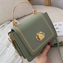 Solid color Leather Mini Crossbody Bags For Women 2020 Summer Messenger Shoulder
