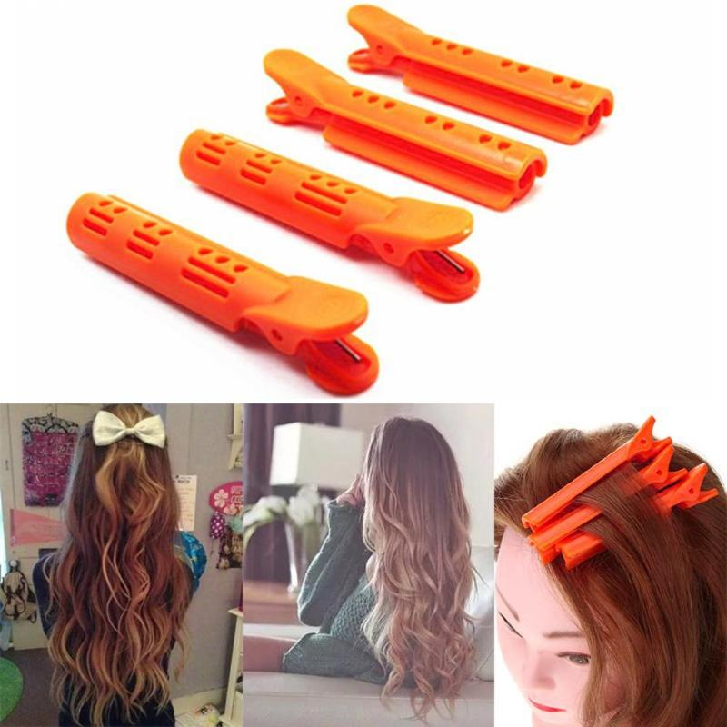 18pcs/set Hair Clips Pins For Hair StyleWave Fluffy Hair Root Folder Kit Perm Bar Rods  Hairdressing Supplies Barber Accessories