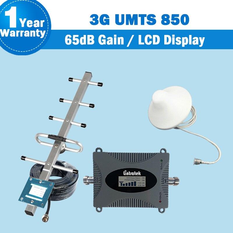 850mhz CDMA Mobile Signal Repeater UMTS 850 Cellphone Amplifier Repetidor De Sinal Amplificador De Antena Celular Repetidor S46