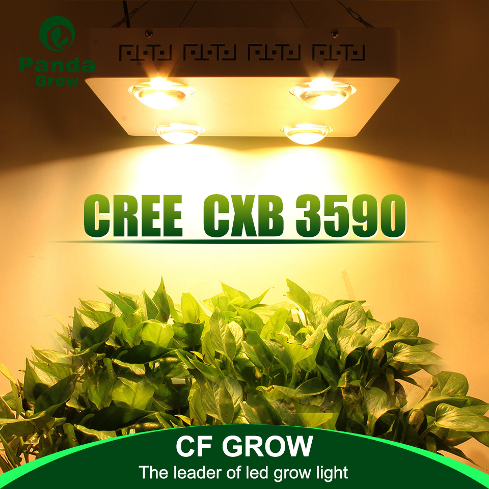 Dimmable Cree Cxb3590 400w Cob Led Grow Light Full