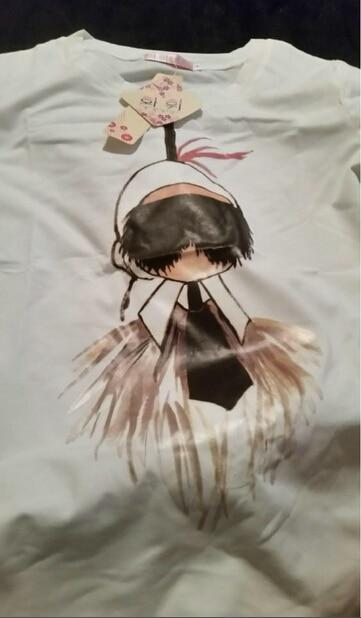 2017 hot sale Summer women's t shirt  Short Sleeve Tops Tee Tshirt casual style Ladies cute cartoon  Print t-shirts camisetas