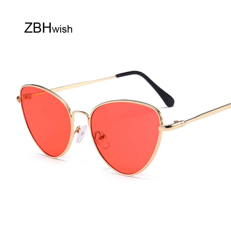 Blue Yellow Red Sunglasses Women Small Frame Brand Design Vintage Sun Glasses For Women Retro Ladies Sunglasses Luxury Oculos