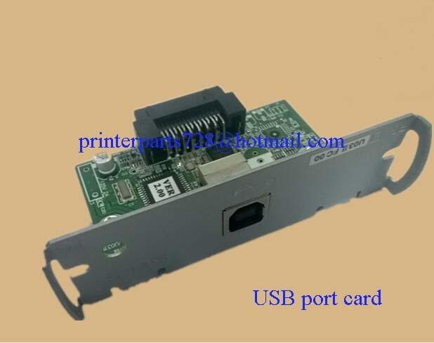 US $32 0 |Prideal 2pcs New USB port card board for Tm T88iii Tm T88IV 88v  TM U220 PB PA PD TM U200 TM U325 TM U675 POS Printer USB card-in Printer