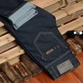 Hot Sale 2016 New Arrival Four Season Men Jeans,Retail & Wholesale Slim Straight Pants Black Color Brand Cotton Jeans Men