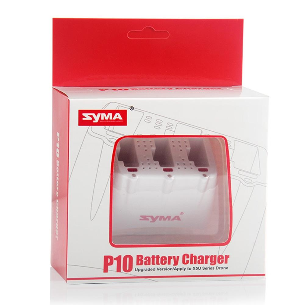 LeadingStar  Battery Charger Charging Box Accessories Set for SYMA X5UW RC Aircraft 3pcs battery and charging charger for b3 little monster brushless helicopter 7 4v 1800mah 25c aircraft battery