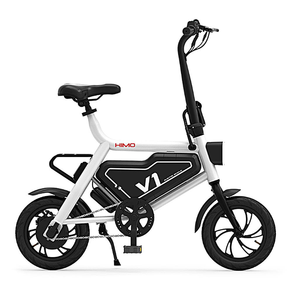 8eb2916604b Original Xiaomi HIMO V1 Portable Folding Electric Assist Bicycle Capacity  6AH Ergonomic Design Bike for adults. Mouse over to zoom in