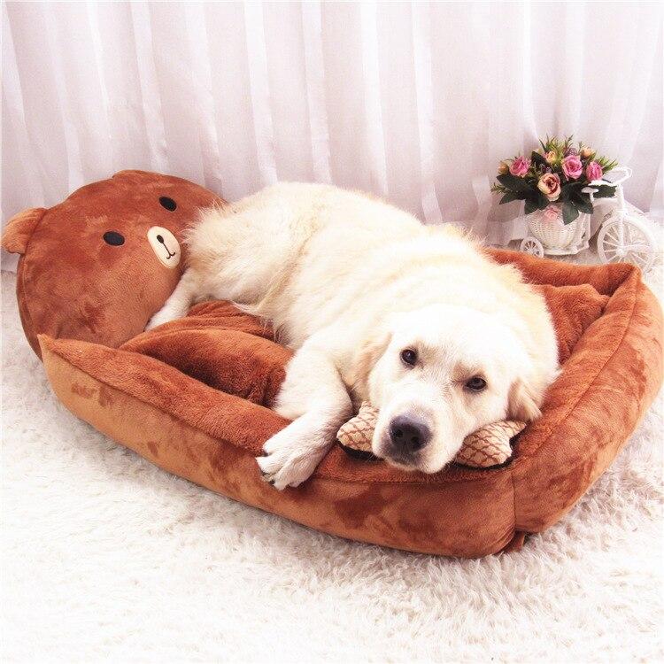 Zachte Comfortabele Pet Kat Hond Bed Huis Deken Mat Verwijderbare Wassen Puppy Grote Hond Levert In Zachte Comfortabele Pet Kat Hond Bed Huis Deken Mat
