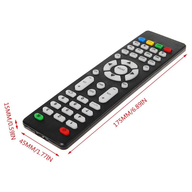 V56 V59 Universal LCD Driver Board DVB-T2 TV Board+7 Key Switch+IR+1 Lamp  Inverter+LVDS Cable Kit 3663