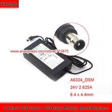Genuine 24V 2.625A A6324_DSM Ac Adapter for Samsung HW-H751 HW-H7501 HW-K550 HW-K550/ZA HW-K551 HW-K551/EN HW-H752 HW-J7501 samsung samsung hw j6000