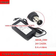 Oryginalne 24V 2 625A HW-F751 A6324_DSM Ac Adapter do Samsung HW-H550 H551 H751 H7501 HWJ450 H752 zasilania laptopa tanie tanio viknight CN (pochodzenie) 24 v Dla samsung HW-H751 US EU UK AU Power Cord ( Free ) 6 4 x 4 4mm A6324-DSM A6324_DSM