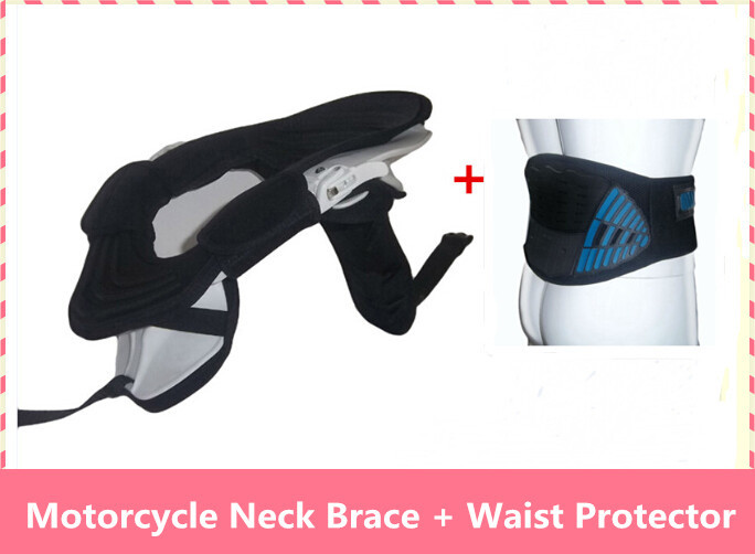 motorcycle Waist + Neck guard Protector racing super mountain bike off-road equipment off-road Neckguard DH downhill brace Neck цена и фото