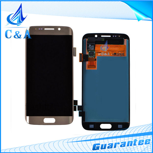 5.1 Inch Original Screen Part For Samsung Galaxy S6 Edge LCD G9250 SM-G925 With Touch Digitizer All Tested 1 Piece Free Shipping