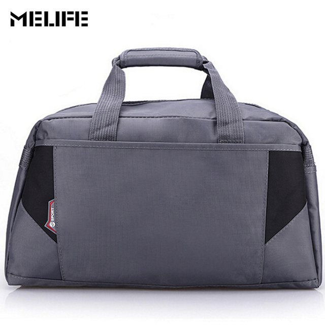 9248ae052 MELIFE Waterproof Gym Bag Women Nylon Outdoor Fitness bags Large Capacity  Men Nylon Material Sports Portable duffle Gym Bags