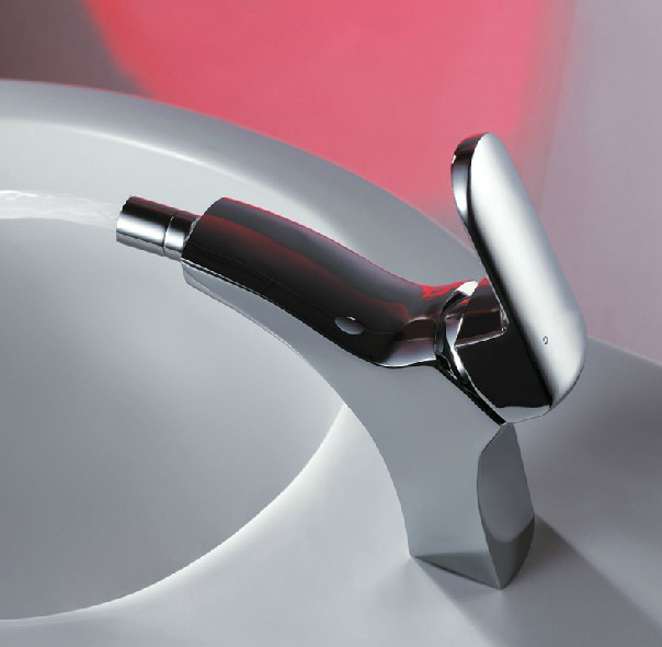 ФОТО Contemporary soild copper chrome finish toilet bidet faucet cold and hot water tap bidet mixer bathroom product