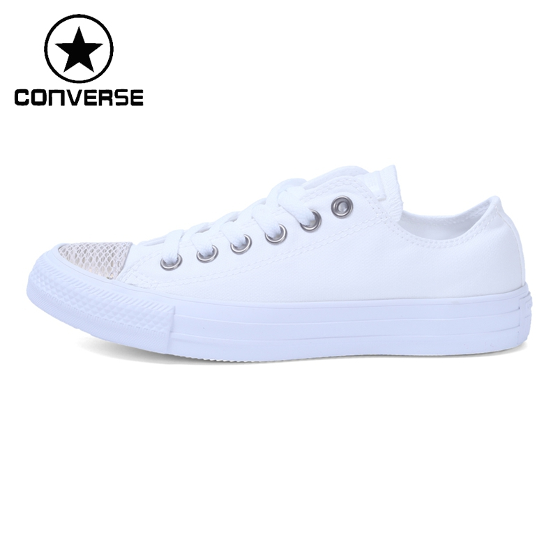 все цены на Original New Arrival Converse Women's Low Top Skateboarding Shoes Canvas Sneakers онлайн